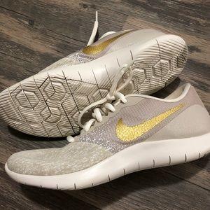 Gold Nike Flex Contact